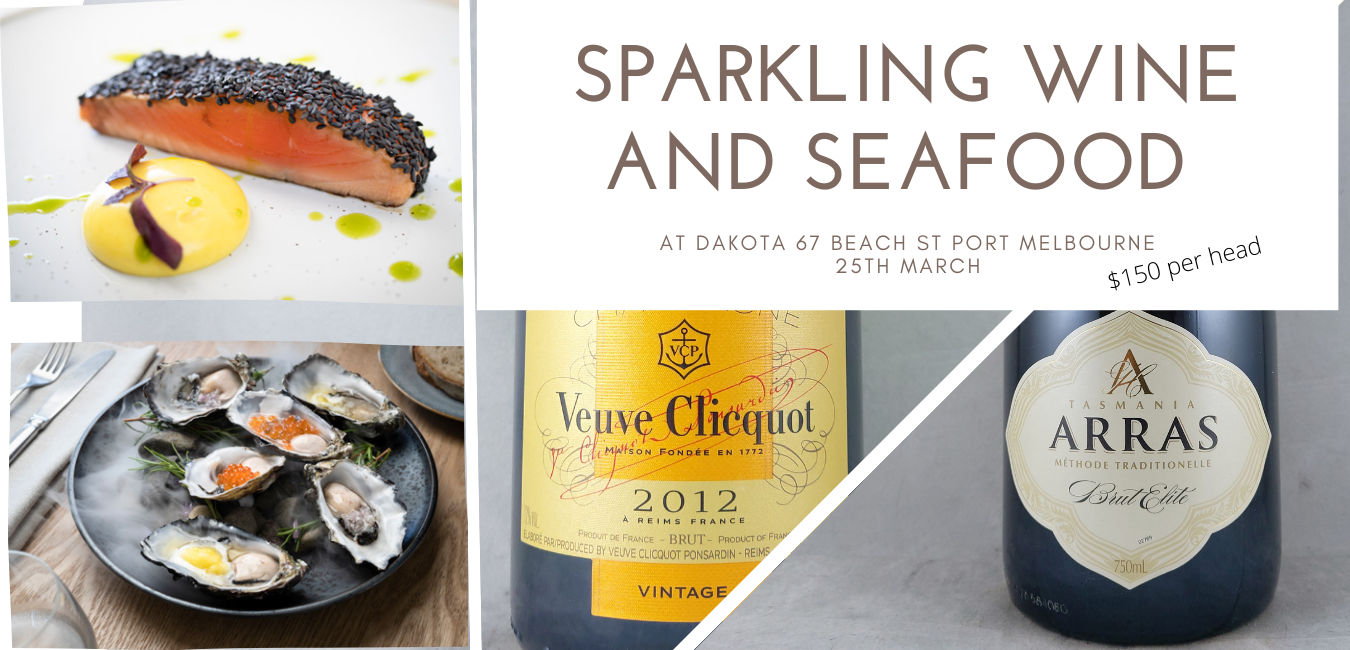 Sparkling Wine, Champagne, and Seafood Dinner at Dakota 25th March 2021