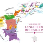 Languedoc Roussillon Wine Map